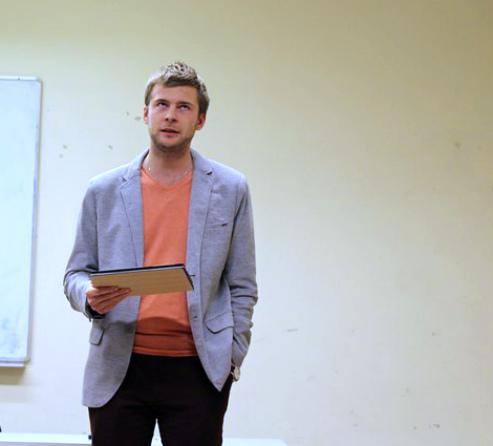 Кирилл Атаманчик, выпускник ЕГУ
