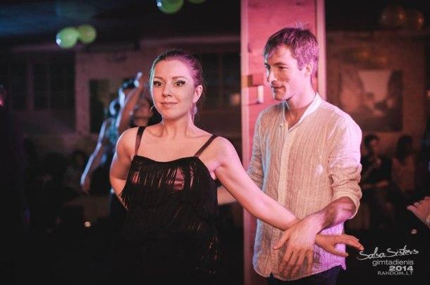 Организатор мастер-классов по социальным танцам Мария Артюшенко