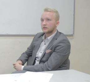 Президент СП ЕГУ Денис Кучинский: «Студенты имеют право на этотголос»