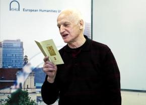 Алесь Рязанов: «В стихотворении есть неизвестнаявеличина»