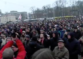 Марш рассерженных беларусов