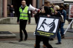 Протесты продолжаются: годовщина «Чёрного понедельника» воВроцлаве