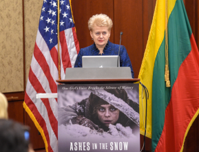 Даля Грибаускайте: Фильм «Пепел в снегу» поможет миру понять историюЛитвы