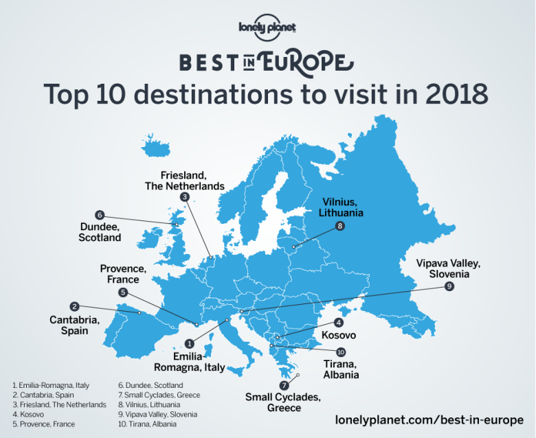 lonely planet 2018 top 10 destinations