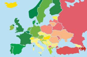 Опубликовано исследование «Rainbow Europe 2018» о положении ЛГБТ-сообщества вЕвропе