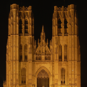 Гимн России исполнили на колоколах королевского собора вБрюсселе