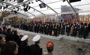 Более 50 мировых лидеров приехали в Париж в день 100-летия окончания Первой мировойвойны