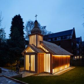 Беларускую часовню в Лондоне признали лучшим религиозным зданием вмире