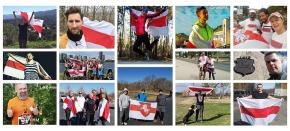 Беларусы ко Дню Воли пробежали более 1000км