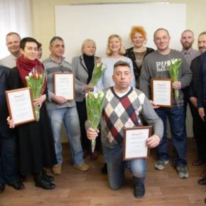 В Минске прошла церемония вручения премии за защиту правчеловека