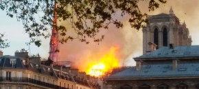 Пожар в Соборе ПарижскойБогоматери