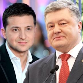 Порошенко и Зеленский вышли во второй тур выборов вУкраине