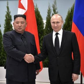 Ким Чен Ын подарил путину меч, но ядерного разоружения непообещал