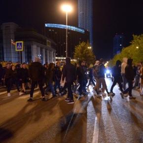 В Екатеринбурге ОМОН вновь разогнал акциюпротеста