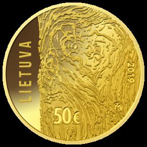 В Литве выпустили коллекционную монету в 50евро