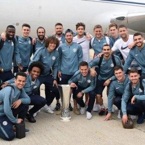 «Челси» разгромил «Арсенал» в финале ЛигиЕвропы
